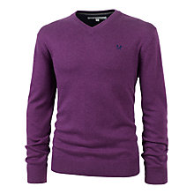 Buy Crew Clothing Foxley V-Neck Jumper Online at johnlewis.com