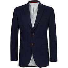Buy Crew Clothing Ashton Blazer, Navy Online at johnlewis.com