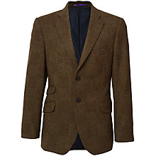 Buy Crew Clothing Wade Blazer, Olive Online at johnlewis.com