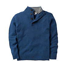 Buy Crew Clothing Highland Knit Button Neck Jumper Online at johnlewis.com