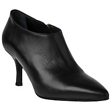 Buy L.K. Bennett Bianca Leather Ankle Boots, Black Online at johnlewis.com