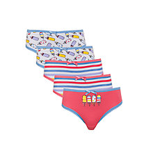 Buy John Lewis Girl Ice Lolly Briefs, Pack of 5, Multi Online at johnlewis.com