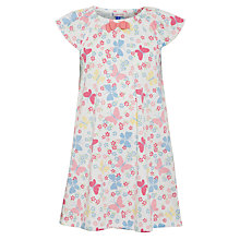 Buy John Lewis Girl Short-Sleeved Butterfly Nightdress, Multi Online at johnlewis.com