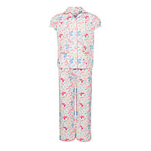 Buy John Lewis Girl Butterfly Pyjamas, Multi Online at johnlewis.com