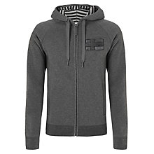 Buy Napapijri Brian Full Zip Hoodie, Grey Online at johnlewis.com