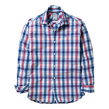 Buy Crew Clothing Lannacomble Check Shirt, Blue Online at johnlewis.com