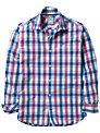 Crew Clothing Lannacomble Check Shirt, Blue