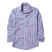 Buy Crew Clothing Pinpoint Check Long Sleeve Shirt Online at johnlewis.com