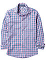 Crew Clothing Pinpoint Check Long Sleeve Shirt