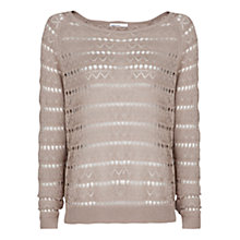 Buy Mango Pointelle Knit Sweater Online at johnlewis.com