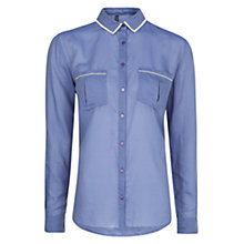 Buy Mango Textured Stripes Shirt Online at johnlewis.com
