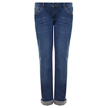 Buy Jigsaw Hampton Vintage Wash Boyfriend Fit Jeans, Blue Online at johnlewis.com