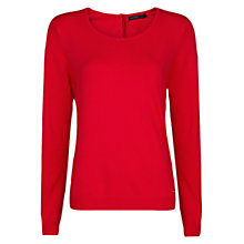 Buy Mango Long Sleeve Jumper, Medium Pink Online at johnlewis.com