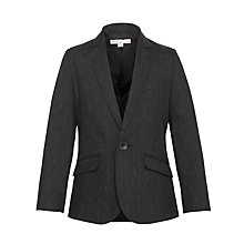 Buy Kin by John Lewis Boys' Slim Lapel Blazer, Black Online at johnlewis.com