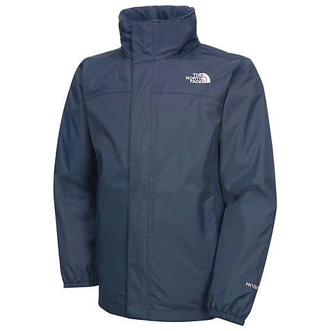 Buy The North Face Boys' Resolve Jacket, Blue/Red Online at johnlewis.com