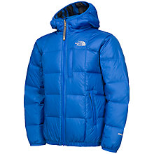 Buy The North Face Boys' Reversible Padded Coat, Blue Online at johnlewis.com