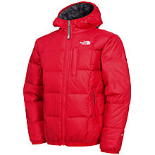 Buy The North Face Boys' Reversible Padded Jacket, Red Online at johnlewis.com