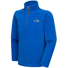 Buy The North Face Boys' Glacier Zip Pullover Fleece Online at johnlewis.com