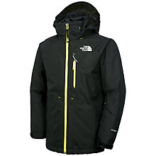 Buy The North Face Boys' Ozone Triclimate Jacket, Black Online at johnlewis.com