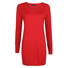 Buy Mango Ribbed Detail Knitted Dress Online at johnlewis.com