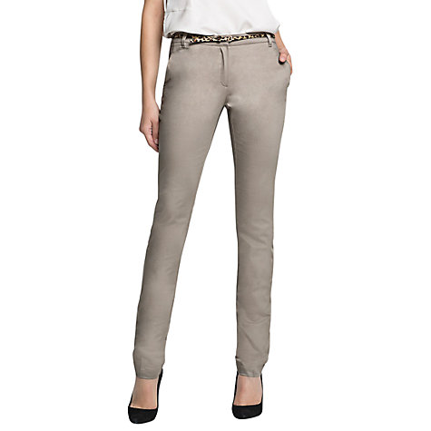 Buy Mango Straight Leg Trousers Online at johnlewis.com