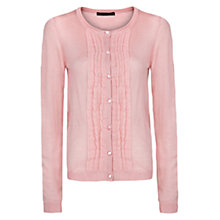 Buy Mango Chiffon Pintuck Cardigan Online at johnlewis.com