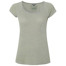 Buy White Stuff On The Wall T-Shirt, Light Sage Green Online at johnlewis.com