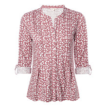 Buy White Stuff Daytime Floral Print Shirt, Pink Online at johnlewis.com