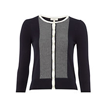 Buy Hobbs Dante Cardigan, Navy Online at johnlewis.com