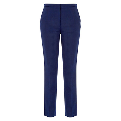Buy Hobbs Bethany Trousers, Blue Lapis Online at johnlewis.com