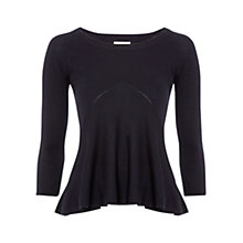 Buy Hobbs Isla Sweater, Navy Online at johnlewis.com