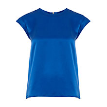Buy Hobbs Katie Silk Cap Sleeve Top Online at johnlewis.com