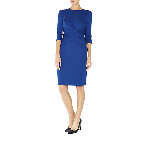 Buy Hobbs Lulu Dress, Blue Lapis Online at johnlewis.com