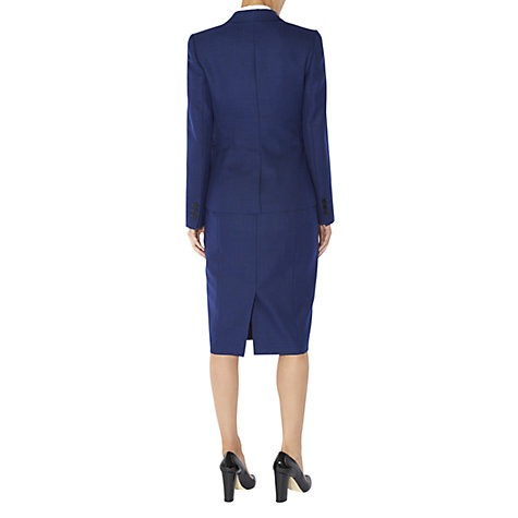 Buy Hobbs Bethany Jacket, Blue Lapis Online at johnlewis.com