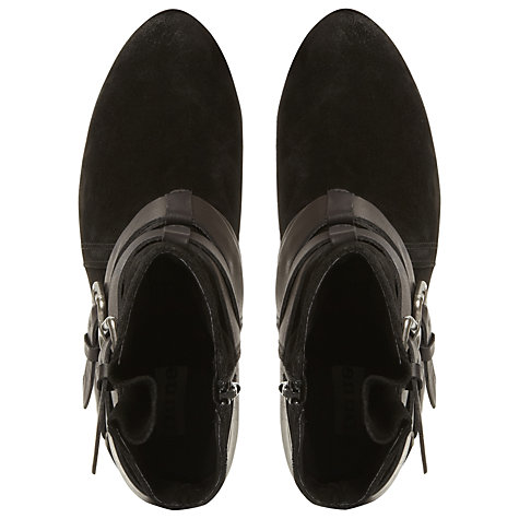 Buy Dune Pitch Ankle Boots, Black Online at johnlewis.com