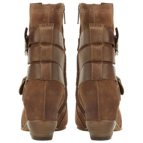 Buy Dune Pitch Long Ankle Boots Online at johnlewis.com
