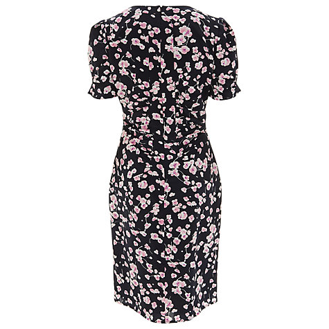 Buy Havren Blossom Print Dress, Navy/Combo Online at johnlewis.com