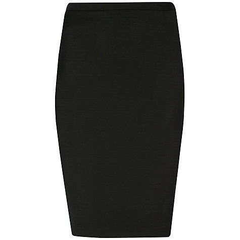 Buy Ted Baker Shiny Lavanta Pencil Suit Skirt, Black Online at johnlewis.com