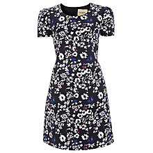 Buy Havren Jacquard Silk Cotton Dress, Meadow Online at johnlewis.com
