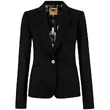 Buy Ted Baker Datya Timeless Single Button Suit Blazer, Black Online at johnlewis.com