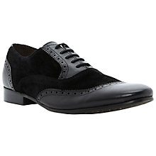Buy Bertie Alfold Leather and Suede Brogue Oxford Shoes Online at johnlewis.com