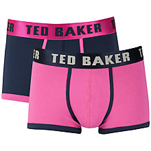 Buy Ted Baker Plain Trunks, Pack of 2 Online at johnlewis.com