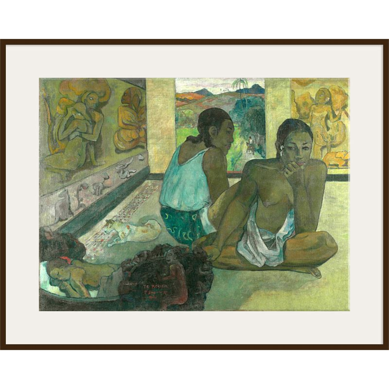 The Courtauld Gallery The Courtauld Gallery, Paul Gauguin - Te Rerioa 1897 Print