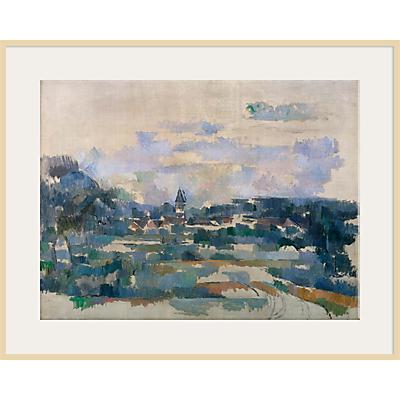 The Courtauld Gallery, Paul Cézanne - Route Tournante 1902-1906 Print