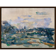 Buy The Courtauld Gallery, Paul Cézanne - Route Tournante 1902-1906 Print Online at johnlewis.com