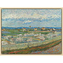 Buy The Courtauld Gallery, Vincent Van Gogh - Peach Blossom in the Crau 1889 Print Online at johnlewis.com