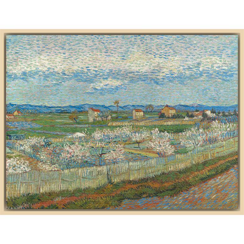 The Courtauld Gallery The Courtauld Gallery, Vincent Van Gogh - Peach Blossom in the Crau 1889 Print