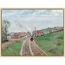 Buy The Courtauld Gallery, Camille Pissarro - Lordship Lane Station, Dulwich, 1871 Print Online at johnlewis.com