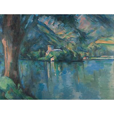 The Courtauld Gallery, Paul Cézanne – Lac d'Annecy 1896 Print