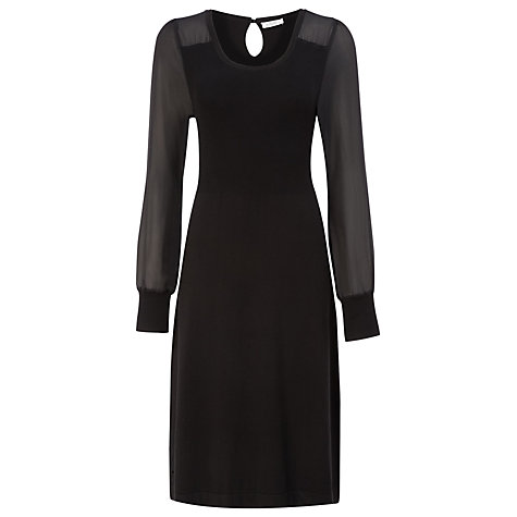 Buy Kaliko Knitted Dress, Black Online at johnlewis.com